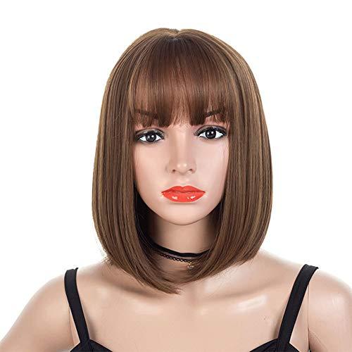 Ysy Hollywood-Damenperücke Bob Kurzes Haar