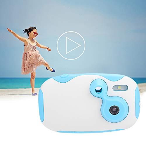 Zunate Kids Kamera,Kinder Kamera Kid Cam Mini Digital Camera Camcorder mit Cartoon-Aufkleber usw,1.3MP,1,44 Zoll HD-Display,langlebig Anti-Drop,Geschenk und Spielzeug für Kinder(A) - Für Flash-karten Japanische Kinder