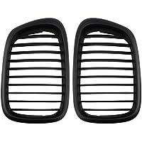 Malla de Rejilla de Rejilla de ventilación de Flujo de Aire Negro para BMW E39 1995-2004 5 Series