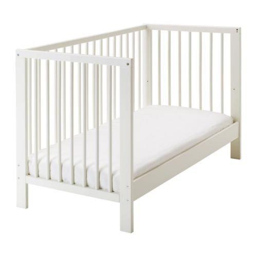 ikea gulliver babybett gitterbett wei 60x120cm z llner matratze 2x nestchen ebay. Black Bedroom Furniture Sets. Home Design Ideas