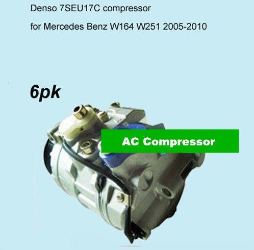 GOWE AC Compresor para Denso 7seu17C AC Compresor para coche mercedesbenz W164W2512005–2010001230831100123088110022301111a0012304411447150–4000