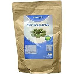 Vitasyg Spirulina - 4000 Presslinge, 1er Pack (1 x 1 kg)