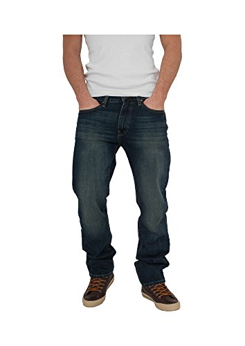 Urban Classics TB376 Loose Fit Jeans Jeans uomo Streetwear Hosen dirty wash