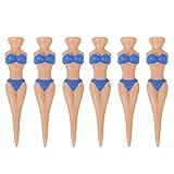 6pcs Clavos de Golf en Forma de Bikini