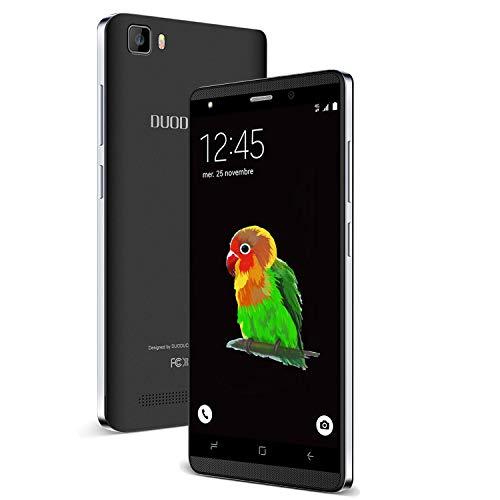 Moviles Baratos y buenos 4G, J3 16GB ROM 5.0' HD Android 7.0 Smartphone Libres Batería 2800mAh Cámara 5 MP Dual SIM - Moviles Libres Baratos 4G (Negro)