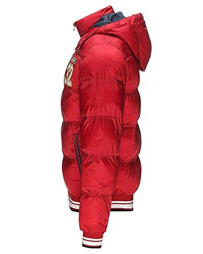 Solid Renner Winterjacke Rot