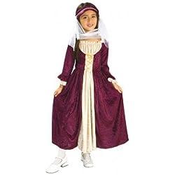 Rubies Disfraz Infantil Chica Medieval, S (882328-S)