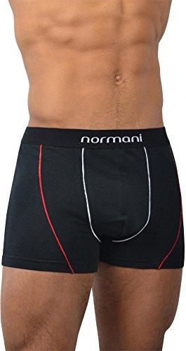 6 x Herren Unterwäsche Boxershorts original normani® Exclusive Red Line