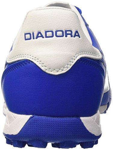 R Bianco azzurro Blu Tf Homens Brasil Diadora Chuteiras TqEwxYSz0