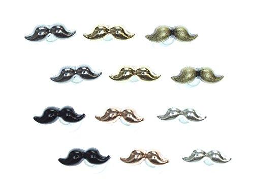loungefly-boucles-doreilles-moustache-lot-de-6