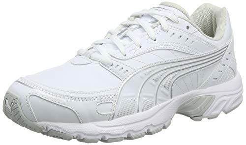 Puma Axis SL, Scarpe da Fitness Unisex-Adulto, Bianco White-Glacier Gray, 42 EU