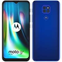 "Motorola moto g9 play (tripla fotocamera 48MP, batteria 5000 mAh, display Max Vision 6.5"", Octa-core Qualcomm Snapdragon 662, Dual SIM, 4/64GB, Android 10), Electric Blue"