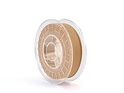 AlephObject RM-MT0002 ColorFabb Copperfill Filament, Reel, 2.85 mm, 0.75 kg, Copper
