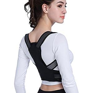 Slimerence, Adjustable Posture Corrector Back Shoulder Lumbar Waist Support Brace Back Brace Support Belt Posture Correction for Men and Women