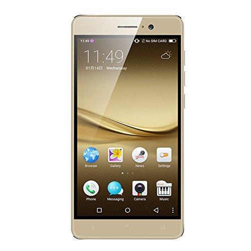 Kivors® Smartphone Kivors R7 Android 5.1 Handy mit 5.5 Zoll IPS Display (960*540) Dual SIM Mobile WCDMA Phone MTK6580M quad Core 1.2 GMHz