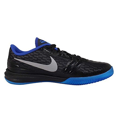 Nike Kid'S Kb Mentality Gs Sport Entraîneur Chaussures BLACK/MTLLC SILVER-GM ROYAL-PHOTO BLUE