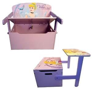 Coffre Modulable 3 en 1 Princesse Disney
