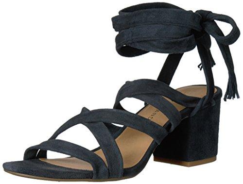 Lucky Brand Idalina Leder Sandale Moroccan Blue