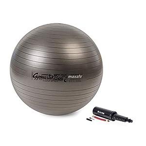 Pezzi Ball MAXAFE Gymnastik- und Sitzball inkl. Ballpumpe