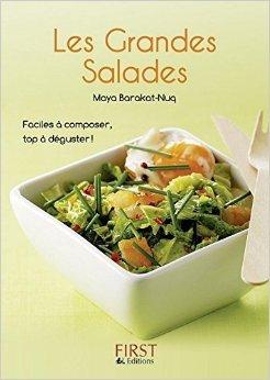 Le Petit livre de - Les Grandes Salades de Maya BARAQUAT-NUQ ( 10 juillet 2008 ) par Maya BARAQUAT-NUQ