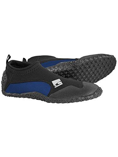 ONEILL WETSUITS Coronel Adultos Trajes de Neopreno Zapatos Botas Reef thermonuclear, Todo el año, Unisex, Color Negro - Black/Coal, tamaño 37/38