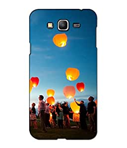 Crazymonk Premium Digital Printed 3D Back Cover For Samsung Galaxy G3