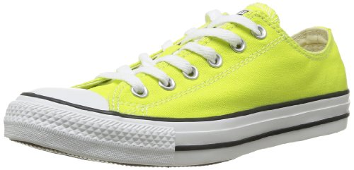Converse All Star Ox Canvas Seasonal, Chaussures de Gymnastique mixte adulte Citronelle