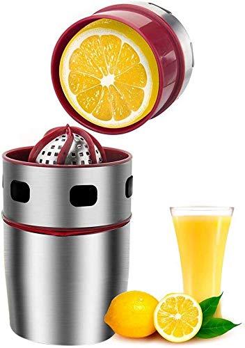 Exprimidor Manual de limón, exprimidor Manual de Naranja, Acero Inoxidable de Grado alimenticio, Zumo...