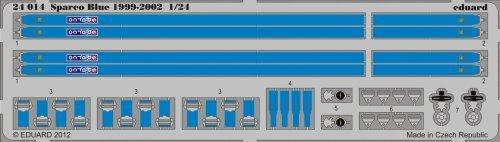 eduard-photetch-124-seatbelts-sparco-blue-1999-2002-edp24014