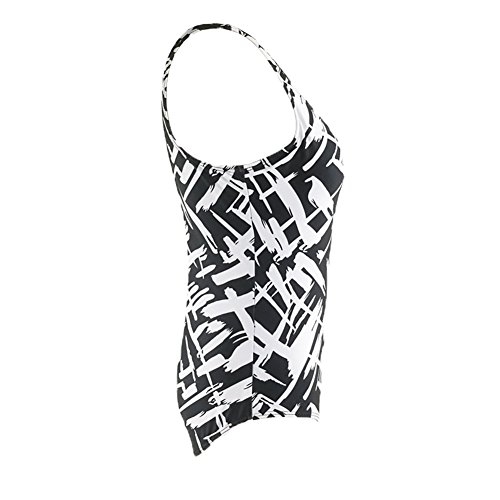 Xiongfeng®Damen Pin-up Sommer bunt bedruckt Bademode One Piece Strand Badeanzug Bikini Set L-3XL Farbe1