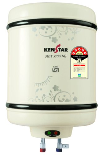 Kenstar Hot Spring KGS06W5M-GDE 6-Litre 2000 Watt Storage Water Heater (White)