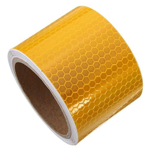 TuToy 3M Lange Sicherheitswarnung Reflektierende Tape Warntape - Die Orange
