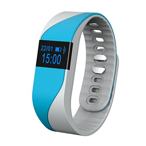 Smart-Armband Wasserdichte Bluestercool Bluetooth Smart Watch (Blau)