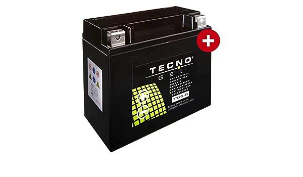 Ytx20l Bs Tecno Gel Batterie Für Fxdb 1690 Dyna Street Bob Abs Baujahr 2014 2016 Auto