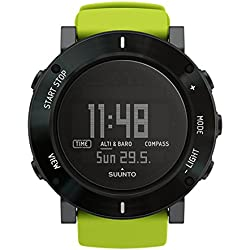 Suunto, CORE CRUSH, Unisex Outdoor Watch for all Altitudes, Waterproof (30 m), Altimeter, Barometer, Weather functions, Composite Case with Stainless Steel Lunette, LIME, SS020693000