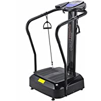 Crazy Fit Massage Vibration Plate 3900 Watt Vibration Massager Sports Massage machine with Built in Speakers