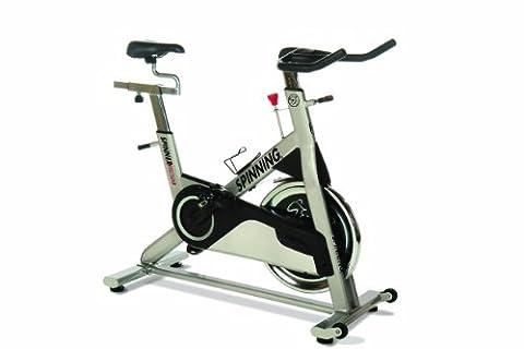 Spinning® Indoor Cycle Sprint Premium Bike, Metallic Silver,