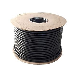 3 Core Round Black Flex Flexible Cable 3183Y 0.75 mm - 10 metre Cut Length
