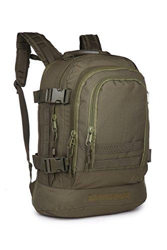Eunichara Militär-Rucksack, taktischer Rucksack, Sport, Jagd und Angeln, persönliche Verteidigung, 40L Expandable Tactical OD Green