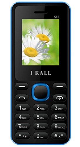 I Kall K66 1.8 inch Dual Sim Mobile (Black & Blue)