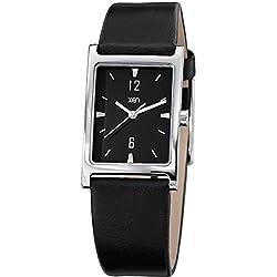 Xen Damen-Armbanduhr Analog Quarz Leder XQ0244