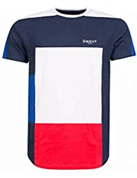 T-shirt Unkut Ground Bleu