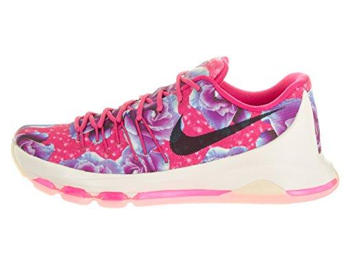 Nike Kd 8 Prm, espadrilles de basket-ball homme Multicolore - Rosa / Negro / Plata (Vivid Pink / Black-Phantom)