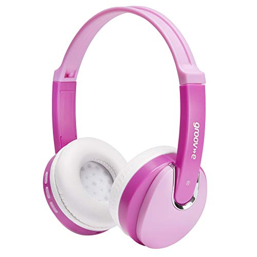 groov-e GVBT590PK wireless DJ Style cuffie Bluetooth–rosa