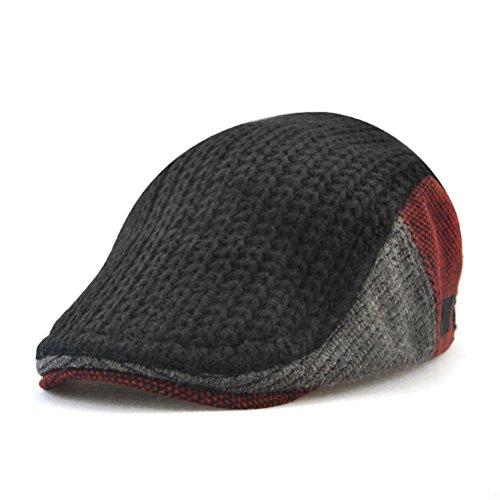 GADIEMENSS Cappelli Uomo Inverno Cappellini Vintage Berretto Cappellino  Visiera Retrò Classico Cotone Cappello Luffy Cappello Con 2a300ac5b32