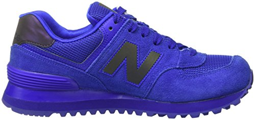 New Balance 574, Scarpe da Ginnastica Basse Donna Blu (blue)
