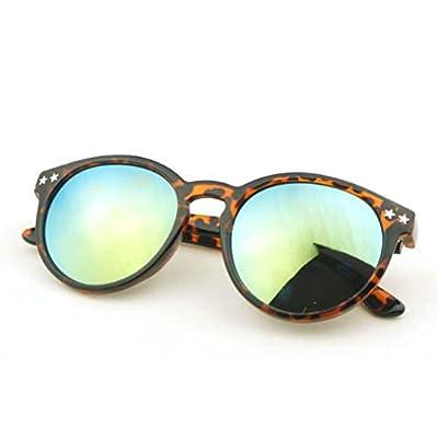 MYLL Retro Neue Runde Fram Damen Sonnenbrille Männer Und Frauen-Brille