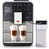 Melitta Barista Smart T Independiente Máquina espresso 1.8L Negro, Acero inoxidable - Cafetera (