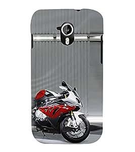 EPICCASE Yamaha RR Mobile Back Case Cover For Micromax Canvas 2 A110 (Designer Case)