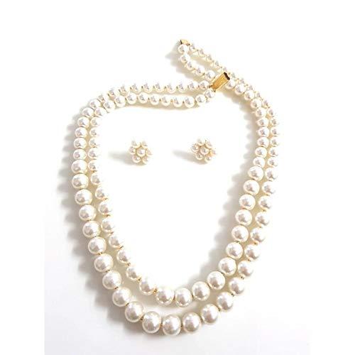 RR Rakhi Real Shel Moti Set Wonderful Pearls Jewellery for Women/Girls